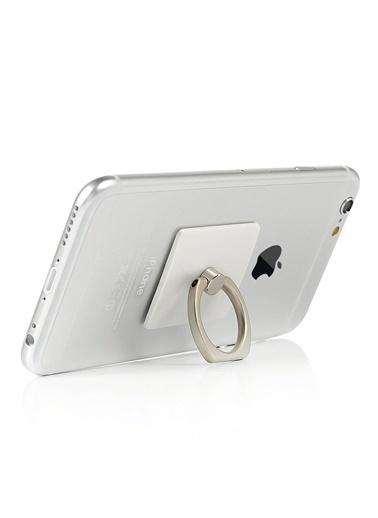 Jacobson Telefon Halkası Style Ring Selfie Yüzüğü Beyaz